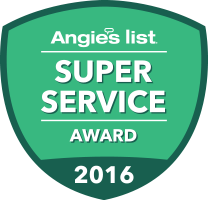 angie's super service award icon