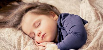 Baby sleeping soundly