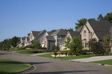 Beautiful family neighborhood.