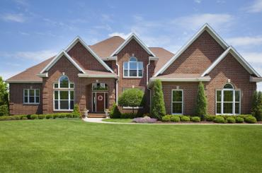 Beautiful, large family home with a healthy and green lawn
